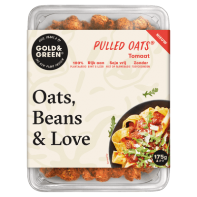 Gold & Green Pulled oats tomaat